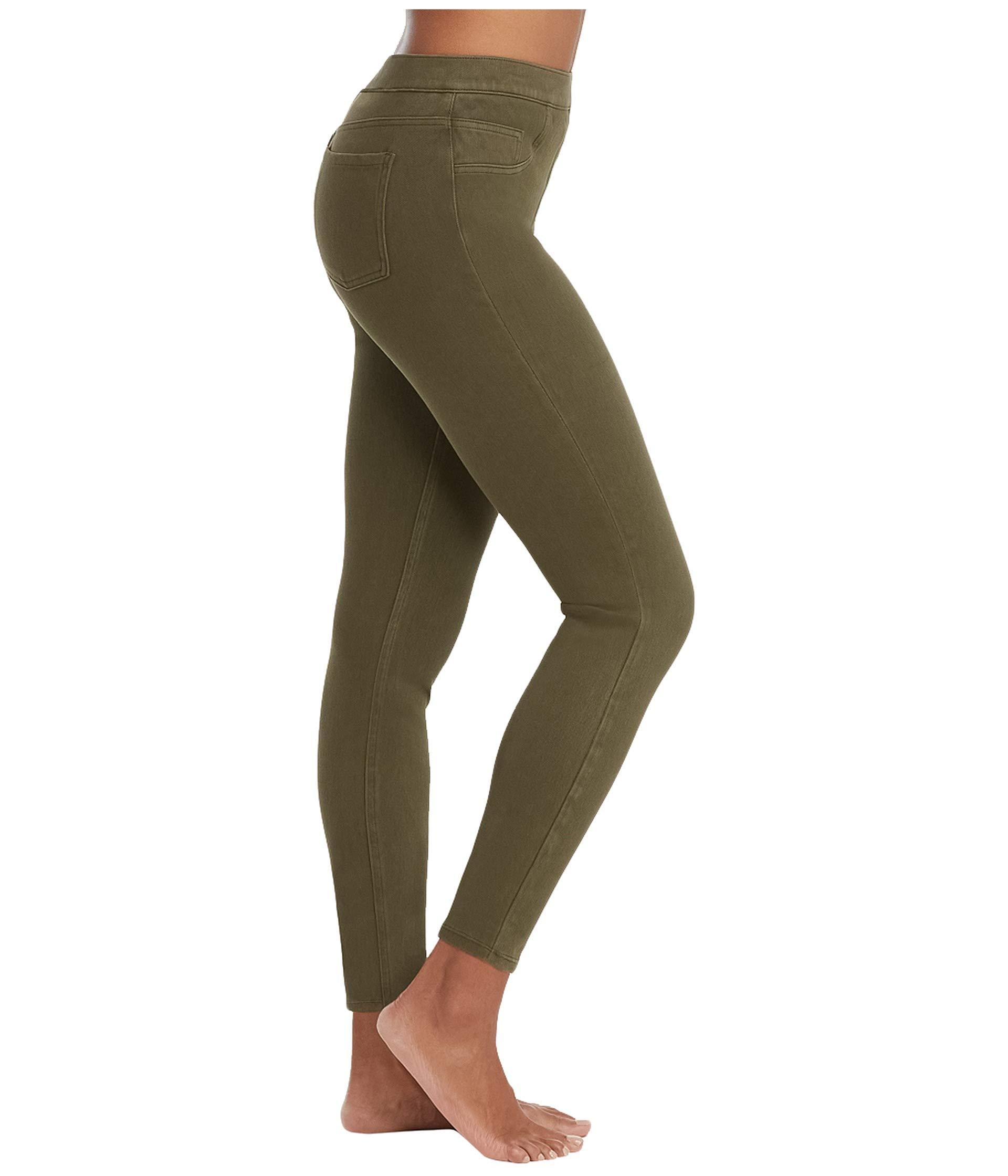 Leggings ish® Jean Spanx Dark Ankle Olive tUxv1wv