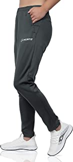 GEMUNTO Men's Sweatpants with Zipper Pocket Athletic Pants Running Casual Slim fit Training Pants