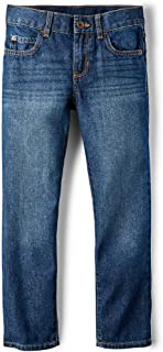 The Children's Place Boys' Basic Straight Jeans