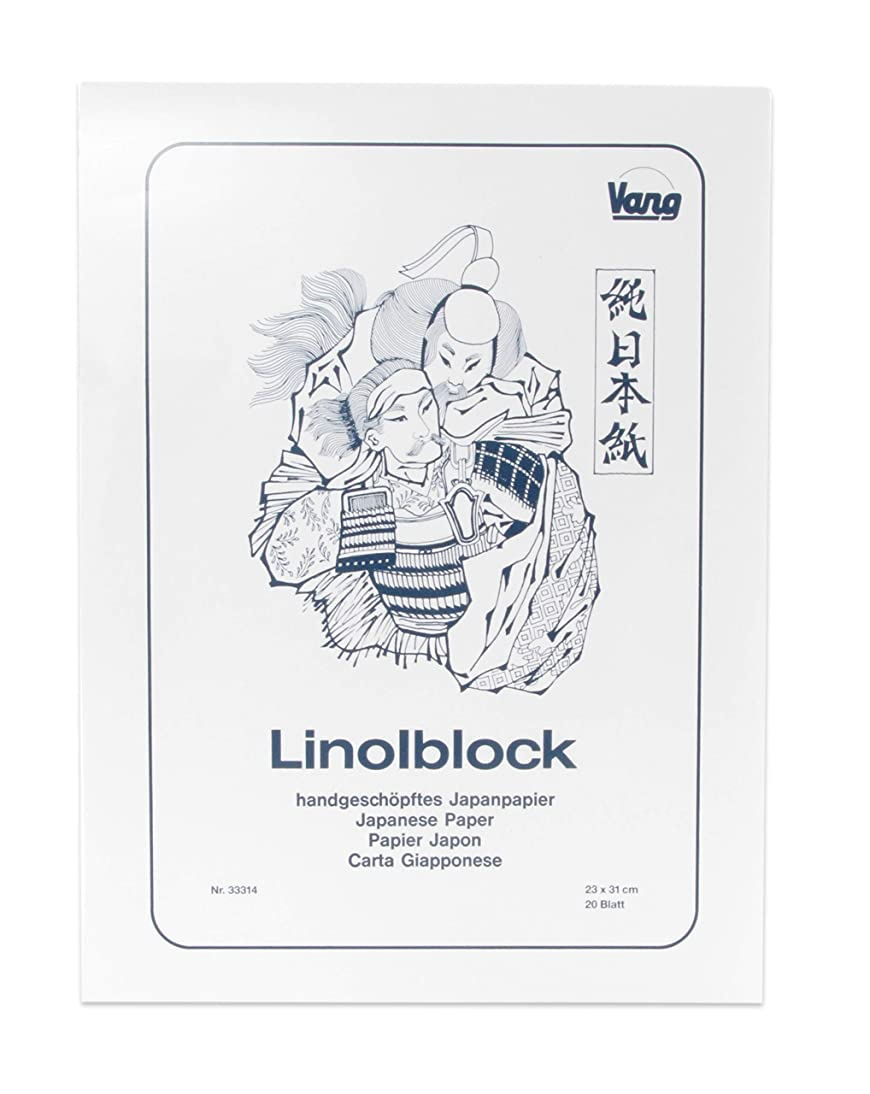 American Educational Products A-183300 ABIG Block Printing Paper, 20 Sheets, 9.05