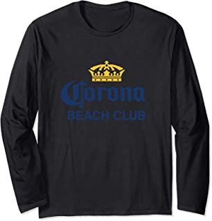 Cerveza Corona Logo With Crown  Long Sleeve T-Shirt