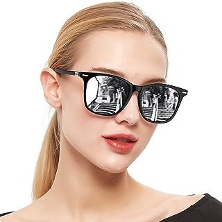 Polarized Mirrored Sunglasses for Women, Fashion...