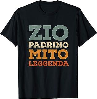 Uomo Zio Padrino Mito Leggenda Regalo per padrini Maglietta