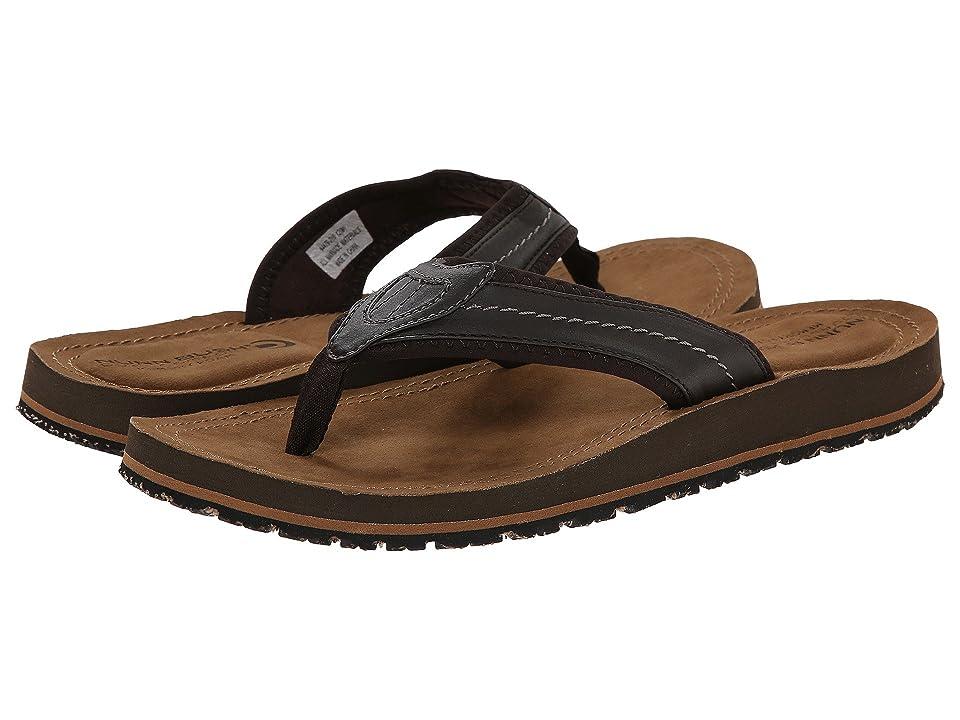 Nunn Bush Lakeshore Thong Sandal (Brown CH) Men