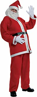 Men's Plus-Size Simply Santa Costume