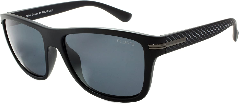 Floats Polarized F4240 Sunglasses Polarized Square Unisex matte frame