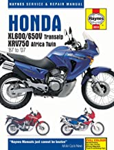 Honda XL600/650V Transalp & XRV750 Africa Twin '87 to '07 (Haynes Service & Repair Manual)