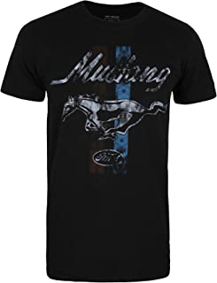 Ford Men's Mustang Stripes T-Shirt