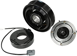 A/C AC Compressor Clutch Repair Kit - Front Plate Pulley Coil Bearing for Honda Accord 2.4L L4 2003 2004 2005 2006 2007