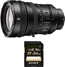 Sony 28-135mm FE PZ F4 G OSS Full-frame E-mount Power Zoom Lens (SD Card Bundle)