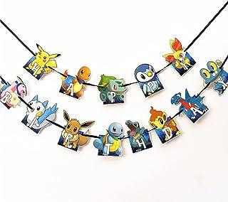 AM ANNA Happy Birthday Banner, Birthday Party Supplies Video Games Decoration Birthday Banner for Party Kids Girls Boys (H...