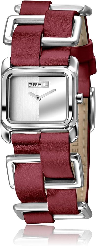 Breil orologio per donna storyline con cinturino in pelle di vitello