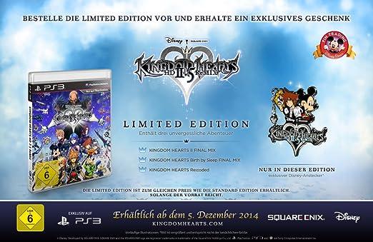 Kingdom Hearts Hd 2 5 Remix Amazon De Games