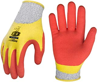 Seibertron S-Flexible 03 Full Nitrile Coated Grip Water & Oil Proof Cut Resistant 5 Level Safety Anti-Slip gloves XXL