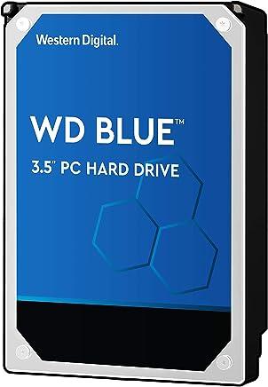 """WD Blue 2TB PC Hard Drive - 5400 RPM Class, SATA 6 Gb/s, 64 MB Cache, 3.5"""" - WD20EZRZ"""