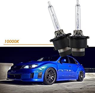 DUOLUTONG 8000K D2S D2C D2R HID Headlights Factory Xenon Light Bulbs Replacment ICE Blue 12V Car OEM Headlights Low Beam Headlamps 35W 2 Pack