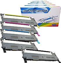 Inktoneram Compatible Toner Cartridges Replacement for Samsung CLP315 CLP-315 409S CLT-409S CLP-315W CLX-3170 CLX-3175FN CLX-3175FW CLP-310 ([2-Black,Cyan,Magenta,Yellow], 5-Pack)