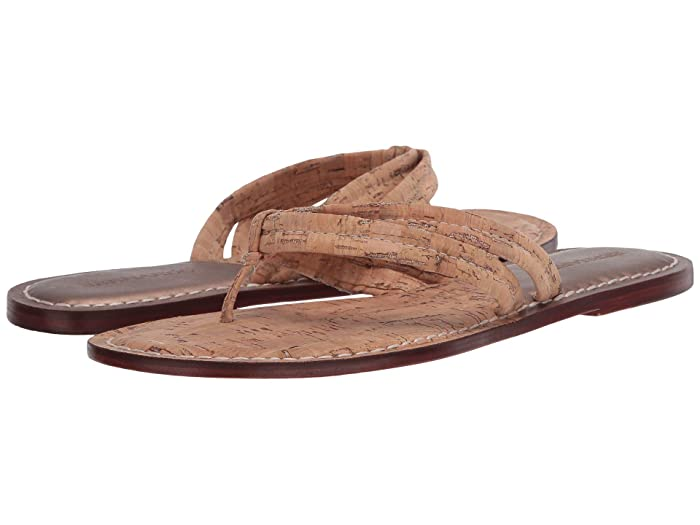 Bernardo  Miami Sandal (Natural Cork Two-Tone) Womens Sandals