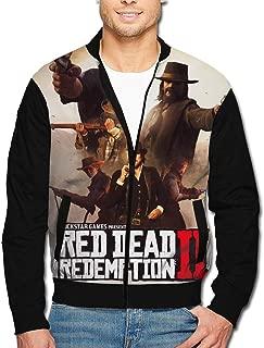 Men's Jacket Full-Zip Jacket Gun Fight Dead Red-Emption 2 3D Print Outdoor Zipper Sweatshirt Tops Coat