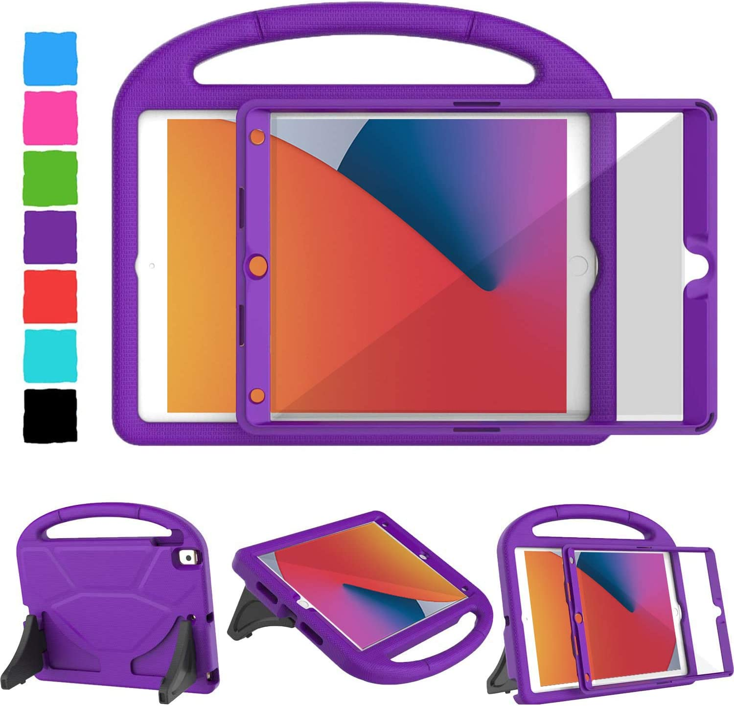 TIRIN Kids Max 82% OFF Case for iPad 8th Generation 10.2 New 7th Popular overseas 2020