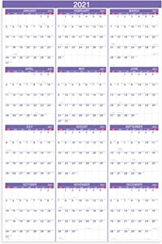 Calendrier 2022 Open Office Amazon.: 2021 Yearly Wall Calendar   2021 Wall Calendar with