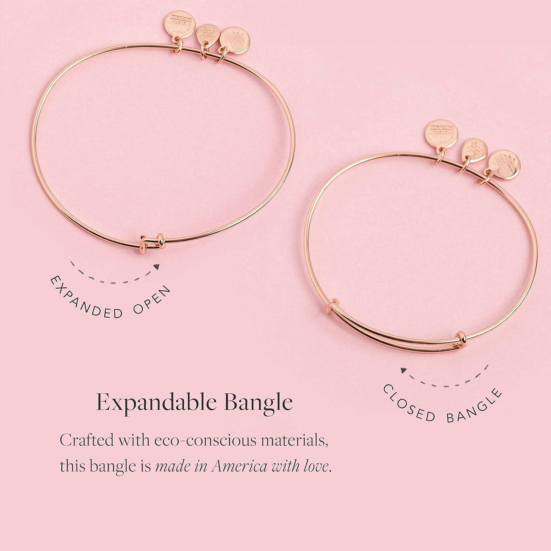 Alex and Ani Initial B III Bangle Bracelet