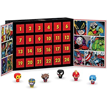 calendrier de l'avent avec figurine pop