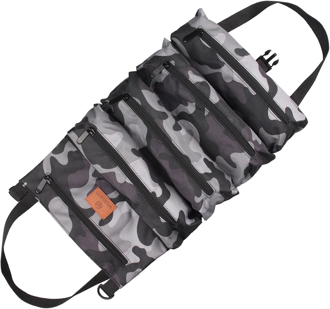 WYN Rolled Up Tool Bag Multi-Purpose Tool Bag Oxford Cloth Tool