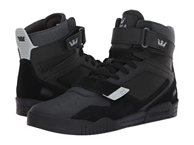 Supra Breaker (Black/Light Grey/Black) Men