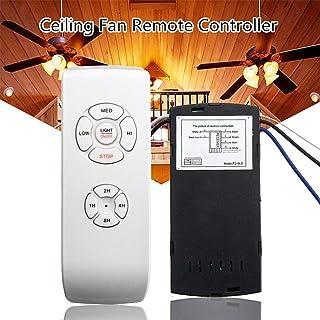 Kit de mando a distancia y receptor para ventilador de techo, 110 V/220 V, control inalámbrico, repuesto de Hampton Bay o Harbor Breeze