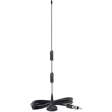 Bingfu Fm Ukw Autoradio Antenne 88mhz 110mhz Magnetfuß Elektronik