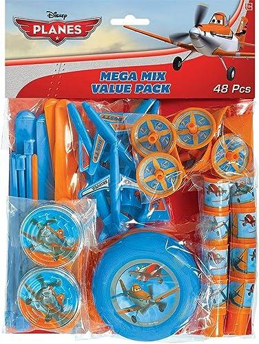 Disney Planes Mega Mix Value Pack Party Favors - 48 pcs