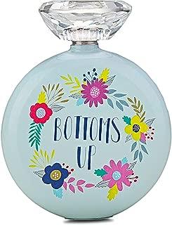 Flask For Women Hip Flask & Funnel Set With Crystal Lid Decorative Women's Flasks 5 oz