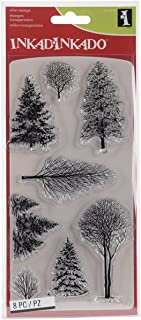 Best inkadinkado christmas clear stamps Reviews