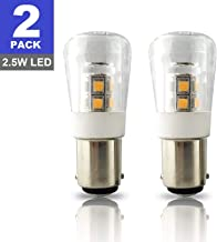 SRRB Performance 12V AC/DC BA15D LED Replacement 1004/1076 / 1142 Light Bulb for RV Camper Travel Trailer Motorhome 5th Wheels and Marine Boat (2 Pack, Natural White)