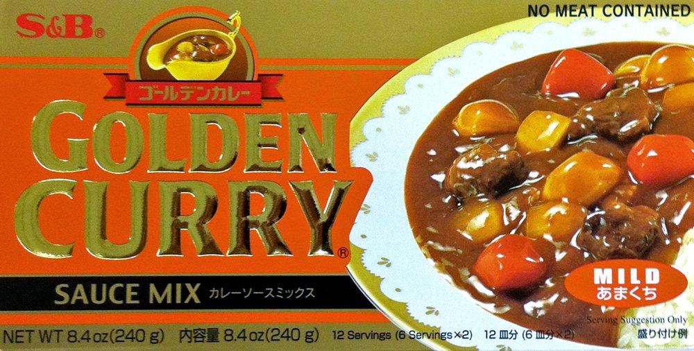 SB Mild GOLDEN 2021new shipping Regular store free CURRY Sauce 2 Pack 8.4oz Mix