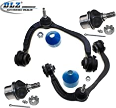 DLZ 4 Pcs Front Suspension Kit-2 Upper Control Arm Ball Joint Assembly 2 Lower Ball Joints Compatible with Ford F150 2004 2005 2006 2007 2008, Lincoln Mark LT 2006 2007 2008 K80308 K80149 K80306