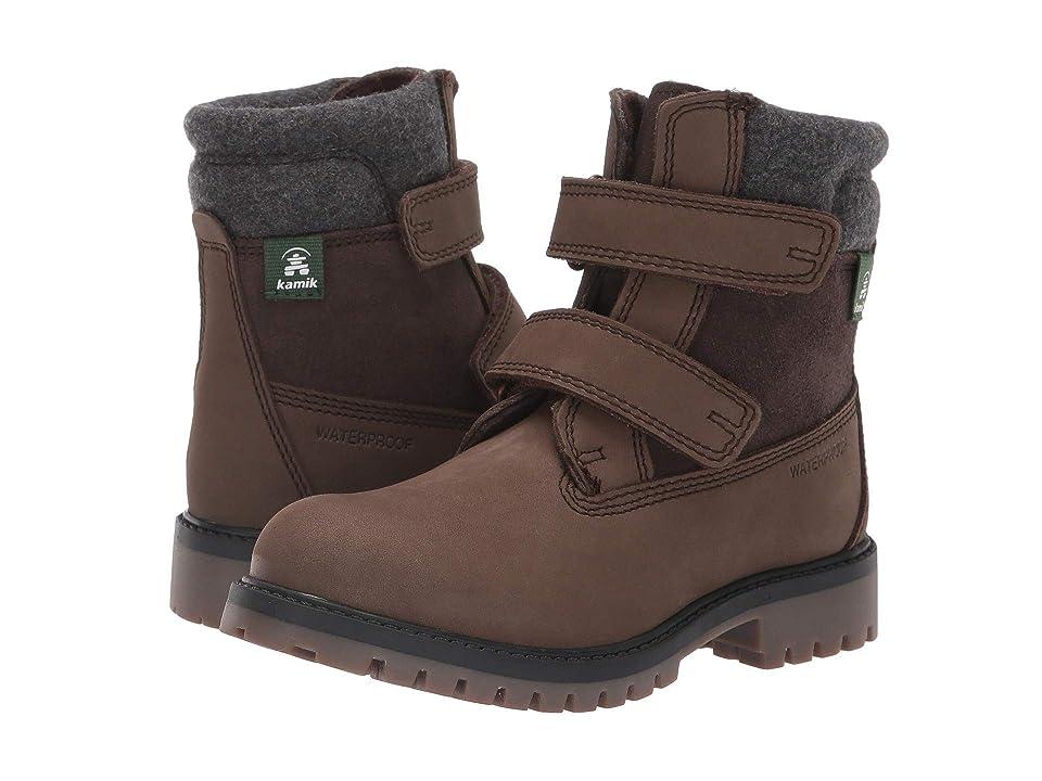 Kamik Kids Takodav (Little Kid/Big Kid) (Brown) Boys Shoes