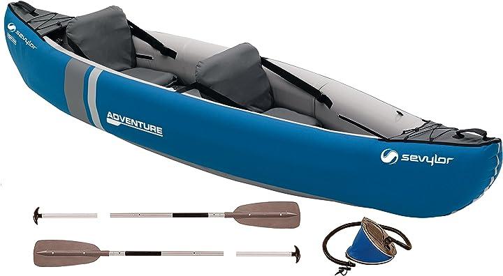 Canoa kayak sevylor kit savylor 2 person adventure kayak 2000009548
