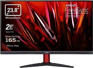 "Acer Nitro KG242YPbmiipx Monitor Gaming PC 23.8"", Display IPS FullHD 165Hz Overclocking, 2ms, FreeSync Premium, HDMI (2.0), DP (1.2), Lum 250 cd/m2, ZeroFrame, Speaker Integrati, Cavi HDMI, DP Inclusi"