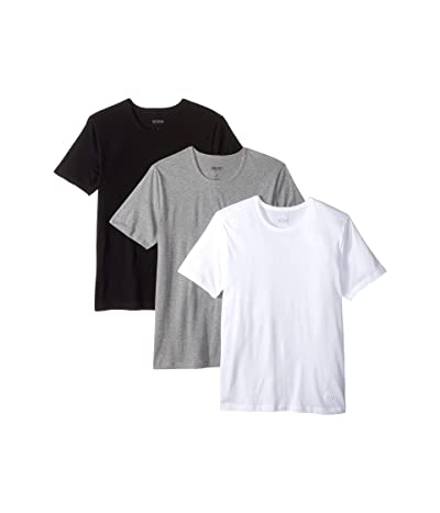 BOSS Hugo Boss T-Shirt Round Neck 3-Pack US CO 10145963 01 (Black/Grey/White) Men