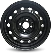 Road Ready Car Wheel For 2001-2005 Honda Civic 15 Inch 4 Lug Steel Rim Fits R15 Tire - Exact OEM Replacement - Full-Size Spare