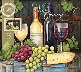 2020 Wine Country Spec Edition Wall Calendar, by Lang Companies