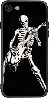 Case for Apple iPhone 7 / iPhone 8, Skeleton Playing Guitar, Cool Skull Design For Musician Guitarist Rocker Phone Case Cover For Apple iPhone 7 and iPhone 8 (iPh 7/8-Skeleton Playing Guitar)