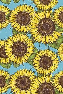 Sunflowers Bullet Journal: Women's Travel Journal / Notebook, Food Diary, Weight Loss Tracker - 6 x 9 Dot Grid Paper for Bullet Journaling, 150 Pages (Sunflowers) (Journal Tracker)