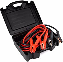 Stark Auto Battery Jumper Cables 25 Feet 0 Gauge 600a Emergency Booster Camp for Cars Trucks Suvs Van with Carrying Case