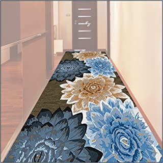 HAIPENG Very Long Runner Rug for Hallway, Abstract Wear Resistance Entrance Mat, Non Slip Washable Carpet Doormat for Kitc...