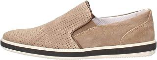 IGI&CO 3107544 Tortora Scarpa Uomo Sneaker Slip-on Pelle