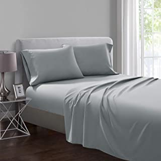 SHALALA NEW YORK Oeko-TEX Certified Sheet Set - Soft Brushed Microfiber – Wrinkle Free and Hypoallergenic - 1 Fitted Sheet...