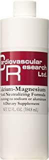 Cardiovascular Research Cal/Mag Acid Neutralizing Liquid, 12 Ounce